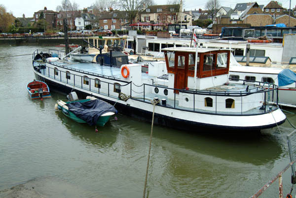 River boat for sale london, traditional wooden sailing